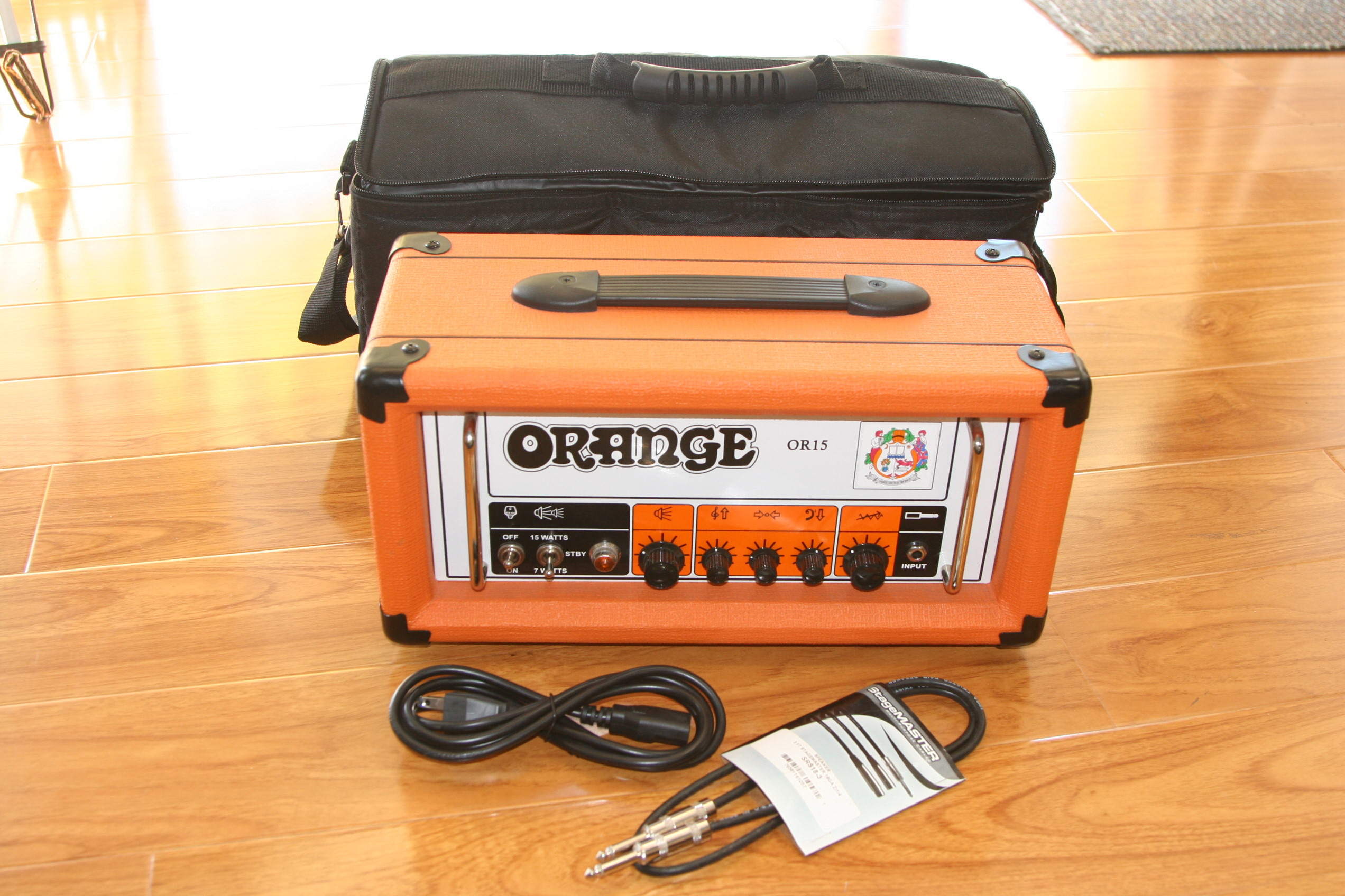 Orange Amplifiers OR15 Guitar Head w/Bag